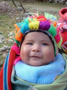baby jongetje met paco