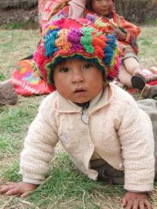 baby meisje met paco