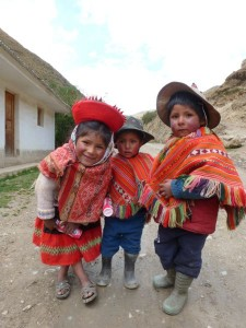 kinderen in Patacancha