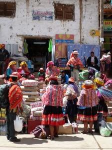 marktdag in Lares